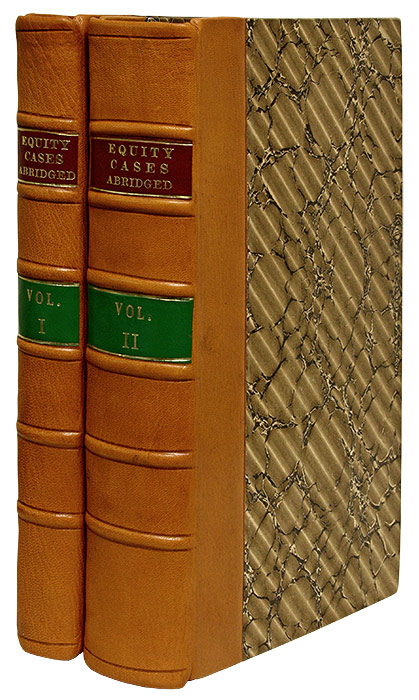 A General Abridgment of Cases in Equity, Argued and Adjudged. Gentleman of the Middle Temple.