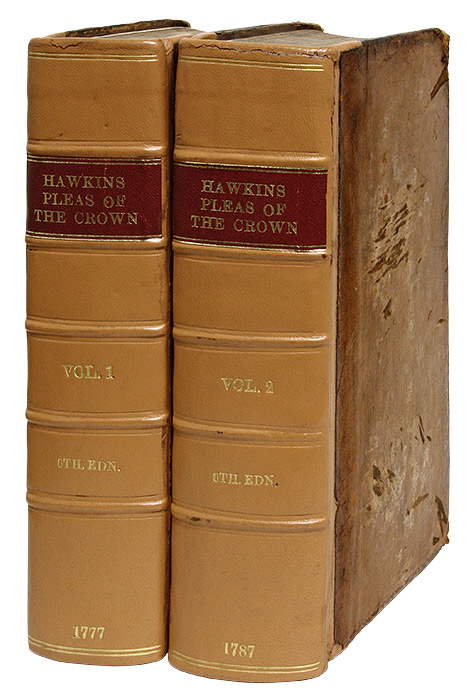 A Treatise of the Pleas of the Crown; Or, A System of the Principal. William Hawkins, Thomas Leach.