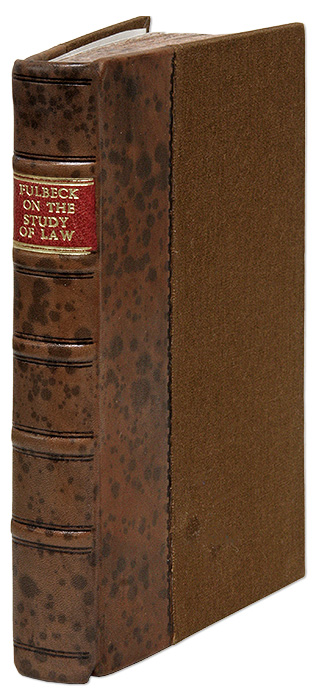 A Direction or Preparative to the Study of the Law... 2nd edition Rev. William Fulbeck, T H. Sterling, Fulbecke.