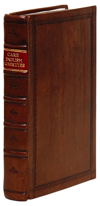 English Liberties, Or, The Free-Born Subject's Inheritance, Henry Care, William Nelson.