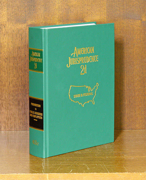 American Jurisprudence 2d. Vol. 63C Prohibition to Public Officers. Thomson Reuters.