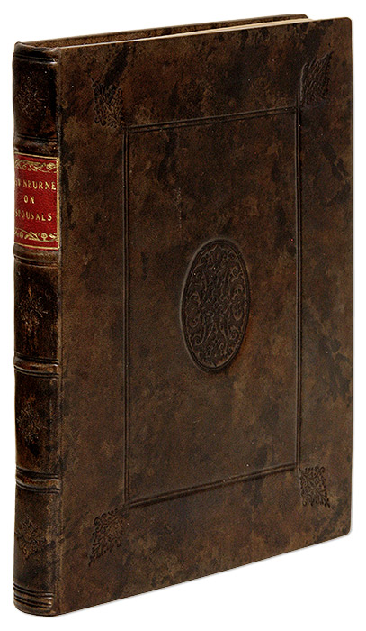 A Treatise of Spousals, or Matrimonial Contracts: Wherein all the. Henry Swinburne.
