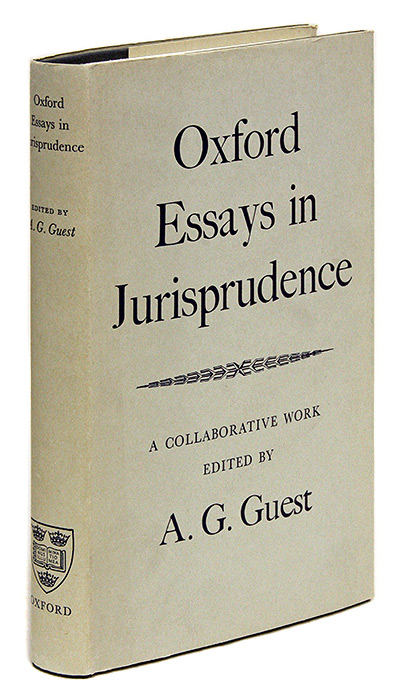 Oxford Essays In Jurisprudence First Series  A G Guest Anthony  Oxford Essays In Jurisprudence First Series Thesis For Persuasive Essay also Is Psychology A Science Essay  Essay Health