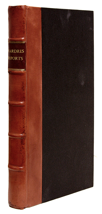 Reports of Cases Adjudged in the Court of Exchequer, In the Years. Thomas Hardres.