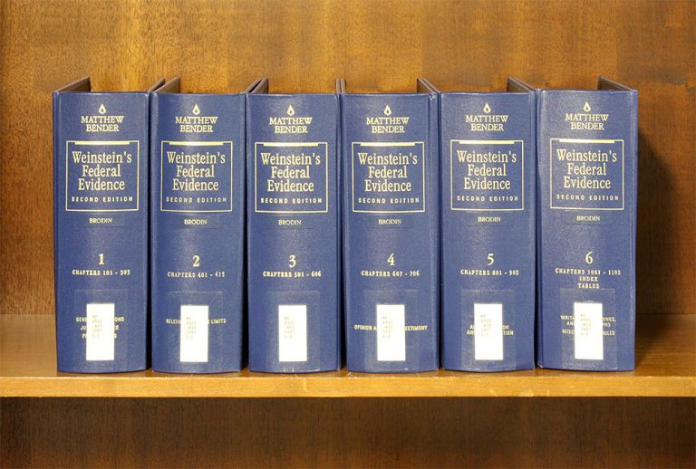 Weinstein's Federal Evidence, 2d ed. 6 Vols. thru rel 125/June 2019. Jack B. Weinstein, Margaret Berger.