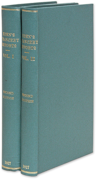Reports of Cases in the High Court of Chancery, From 1757 to 1766. Robert Henley Eden, Baron, Robert Henley Henley.