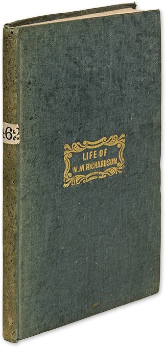 Life of William M Richardson, LL D, Late Chief Justice of the. William M. Richardson.