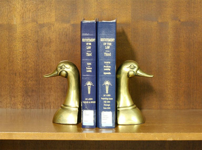 Restatement of the Law 3d Torts Products Liability 2 Vols w/2018 supp. American Law Institute.