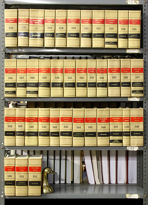 United States Reports, Official edition. Vols 515 to 552 (1994-2007). United States Supreme Court.