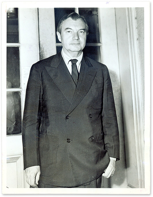 "6"" x 8"" Black-And-White Press Photograph of Justice Jackson. Robert H. Jackson, U S. Supreme Court Justice."