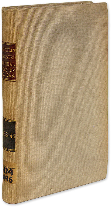 A Digested Manual of the Acts of General Assembly of North Carolina. North Carolina, James Iredell.