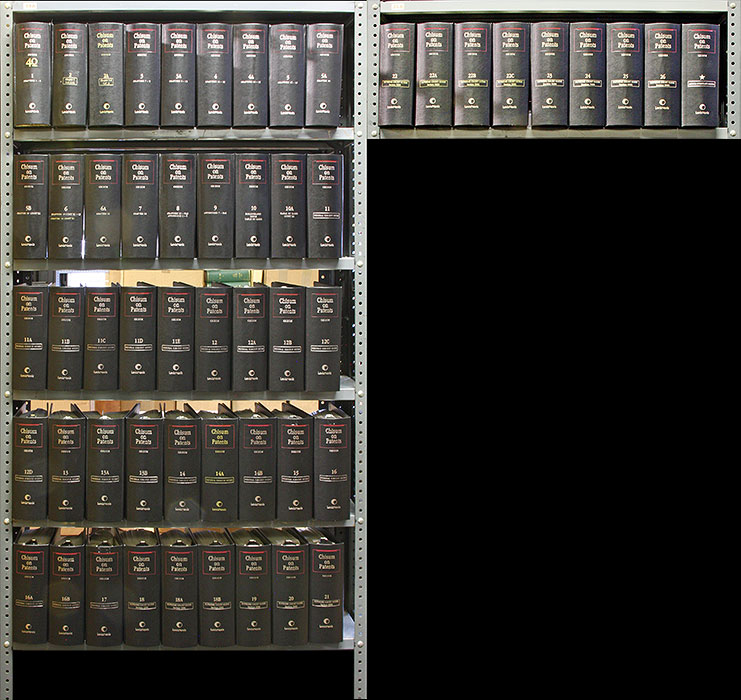 Chisum on Patents. 54 Vols. Current thru release 168/May 2019. Donald S. Chisum.