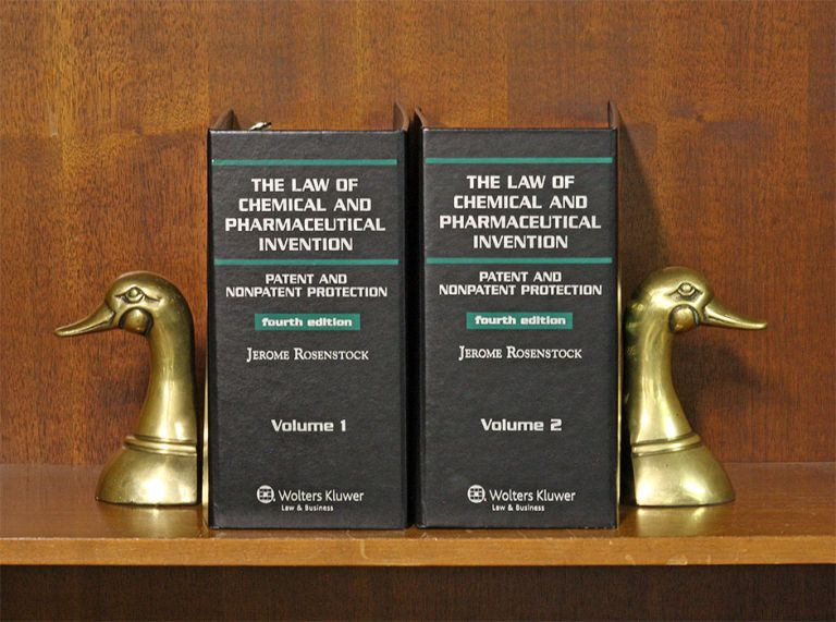 Law of Chemical and Pharmaceutical Invention... 2 Vols. w/2019-1 supp. Jerome Rosenstock.