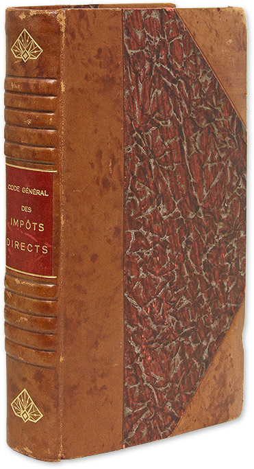 Code General des Impots Directs et Taxes Assimilees, Limited Edition`. Joseph Hemard, E. Charpentier.