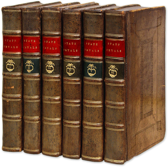 Tryals for High-Treason, And Other Crimes, With Proceedings on Bills. Thomas Salmon.
