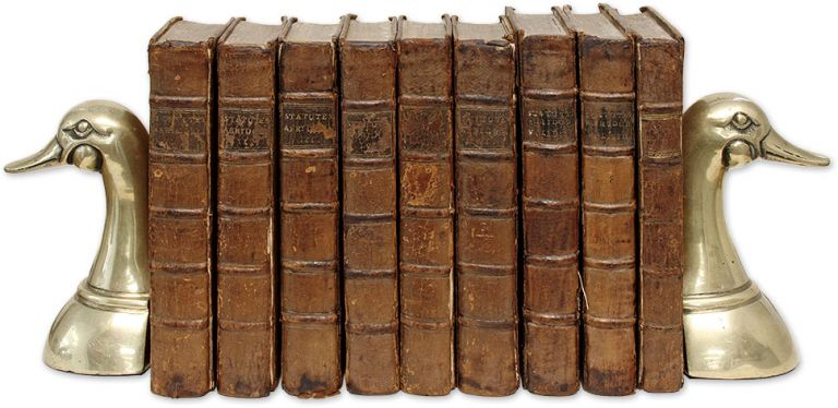 An Exact Abridgment All the Statutes in Force & Use from Magna Charta. Great Britain.