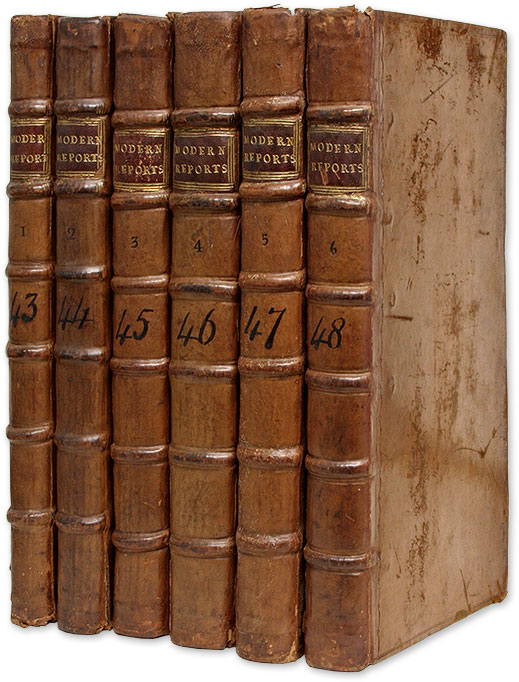 Modern Reports, Or Select Cases Adjudged in the Courts of King's Bench. Great Britain, Modern Reports, Anthony Colquitt.