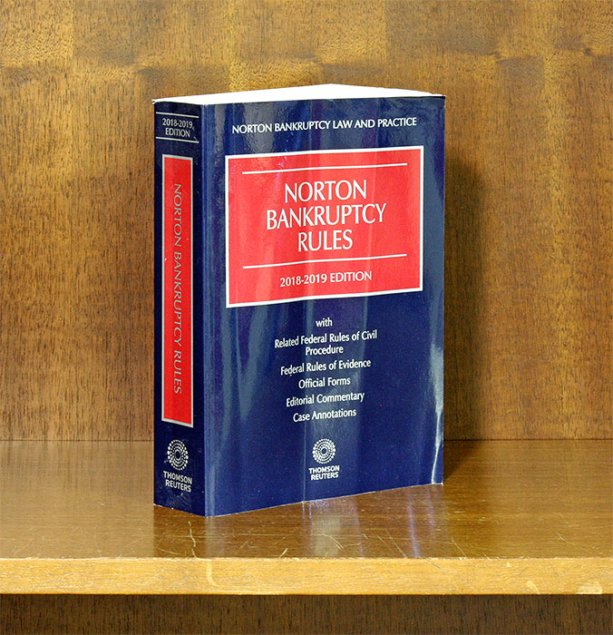 Norton Bankruptcy Law And Practice 3d Bankruptcy Rules 2018-2019 Ed. William L. Norton.