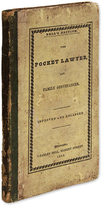 The Pocket Lawyer, And Family Conveyancer [and] Law Dictionary. Legal Manual.