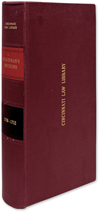 Decisions of the Court of Session, From the Year 1738 to the Year. James Fergusson, Lord Kilkerran, Sir.