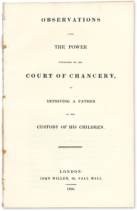 Observations upon the Power Exercised by the Court of Chancery. John Beames.