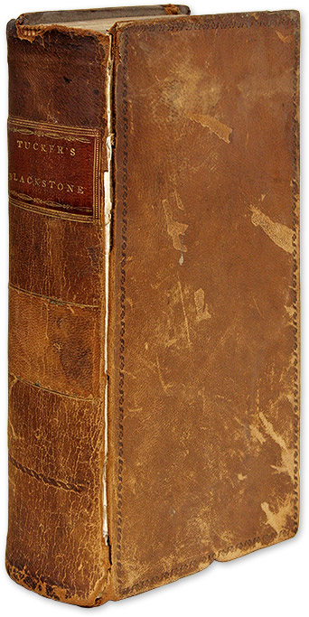 Blackstone's Commentaries: With Notes of Reference, Volume V. Sir William Blackstone, St George Tucker.