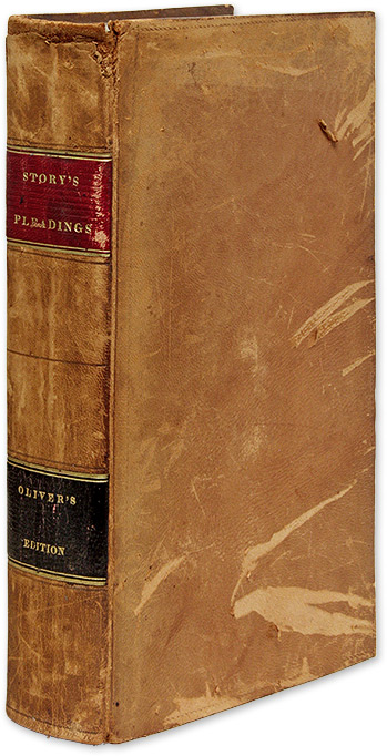 A Selection of Pleadings in Civil Actions, With Occasional. Joseph Story, Benjamin Oliver.