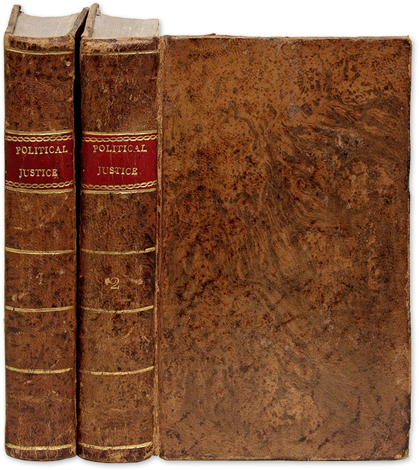 An Enquiry Concerning Political Justice, and its Influence on. William Godwin.
