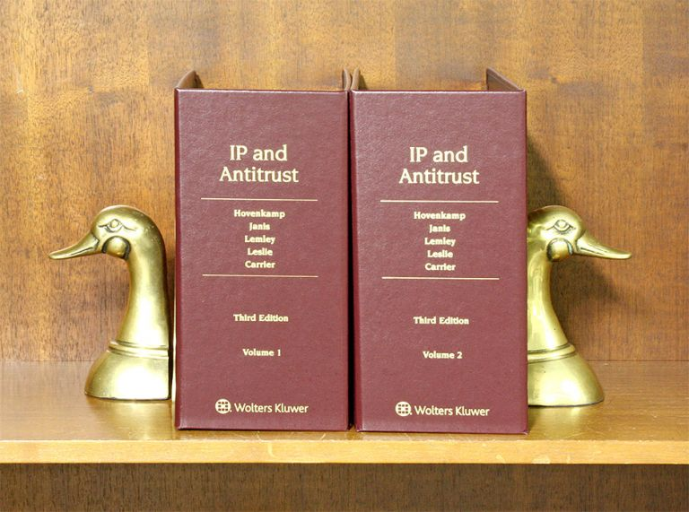 IP and Antitrust. An Analysis of Antitrust... 3rd Ed. 2 Vols. Nov 2018. Herbert Hovenkamp, Mark D. Janis, Mark A. Lemley.