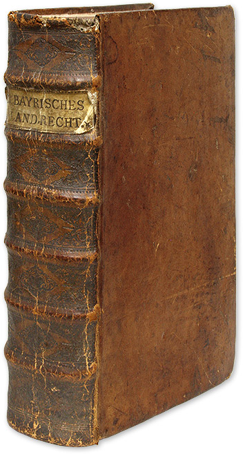 Reformacion der Bayrischen Lanndrecht [Bound with Two Books]. Bavaria.