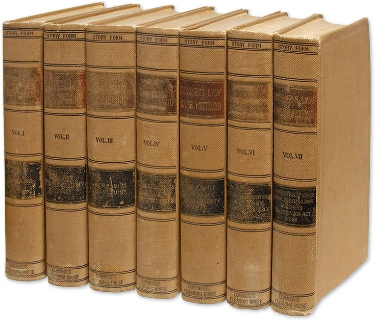 Story Case-Business Law, A Systematic Non-Technical Treatment...7 vols. William KixMiller.