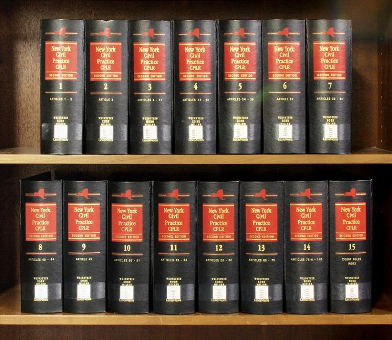 New York Civil Practice 2d: CPLR. 15 Vols. thru release 171/April 2019. Korn Weinstein, Miller.