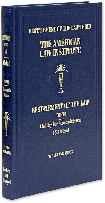 Restatement of the Law Third [3d]. Torts: Liability for Economic Harm. American Law Institute.
