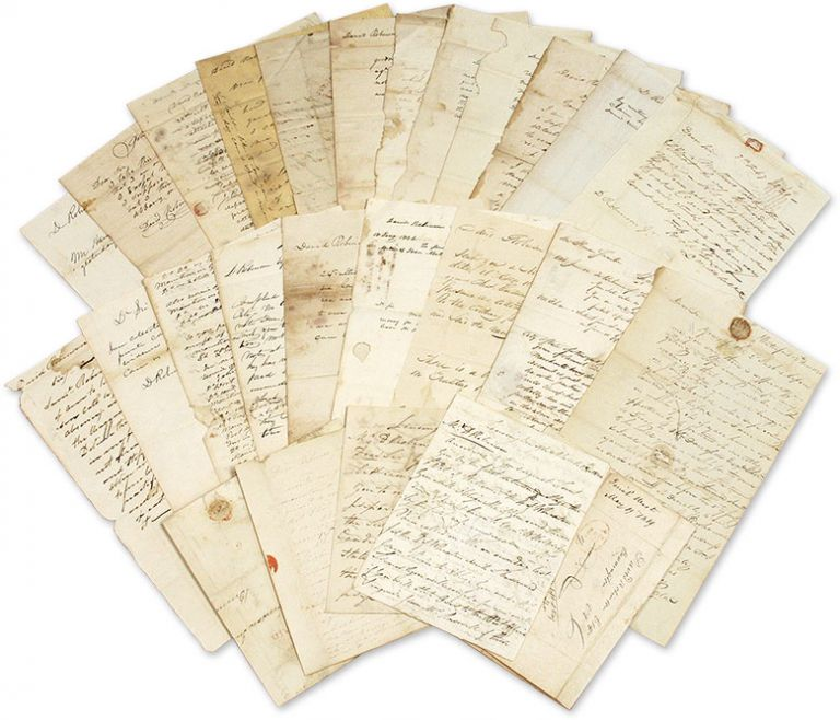 Archive of Letters Addressed to David Robinson, Jr, Attorney-at-Law. Manuscript Archive, Lawyers, David Robinson, Jr.