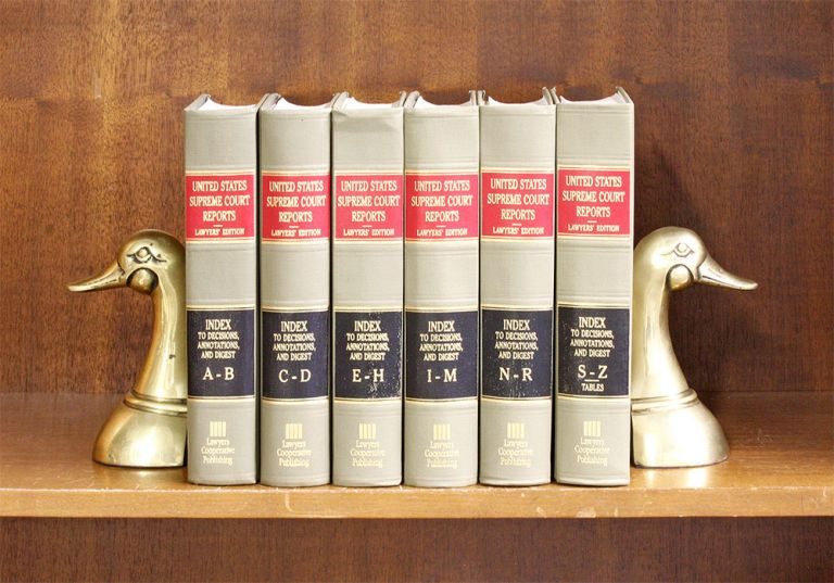 United States Supreme Court Reports/General Index to Decisions 6 vols. Lawyers Cooperative Publishing Co.