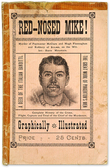 Red Nosed Mike!, Confession of a Terrible Crime, Assassination. Trial, Michael Rezzolo, Defendant.