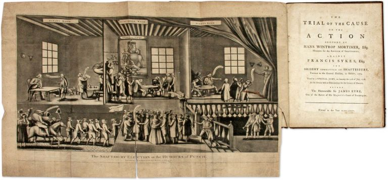 The Trial of the Cause on the Action Brought by Hans Wintrop Mortimer. Trial, Francis Sykes, Defendant.