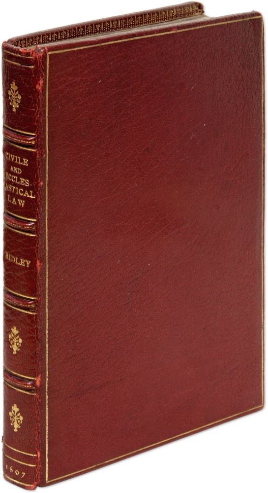 A View of the Civile and Ecclesiastical Law, And Wherein the. Sir Thomas Ridley.