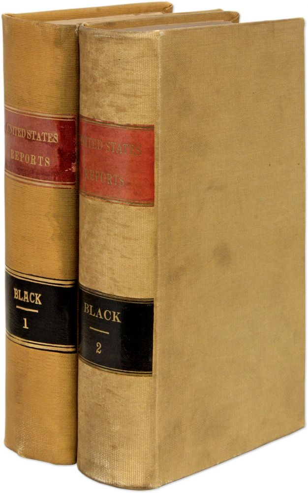 Reports of Cases Argued and Determined in the Supreme Court. United States Supreme Court, Jeremiah S. Black.