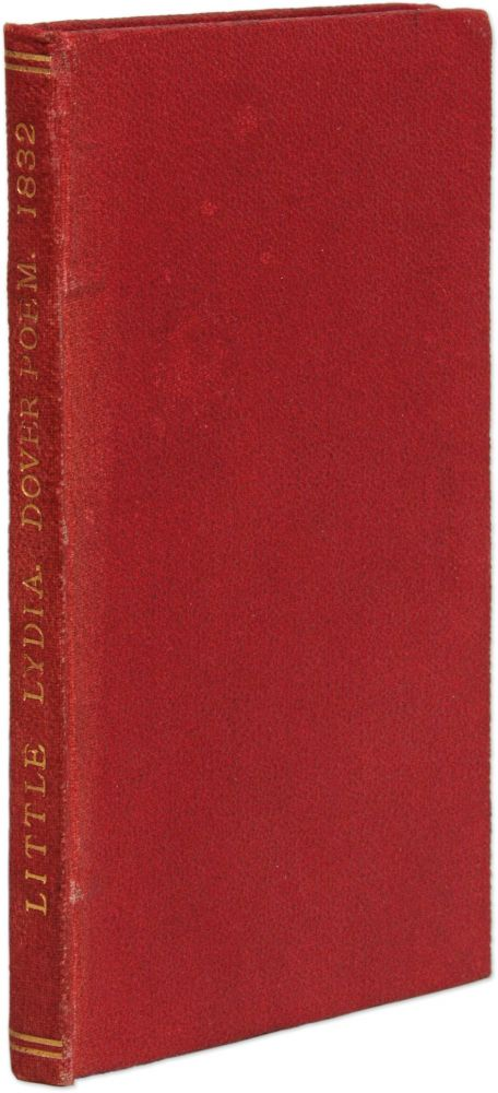 Little Lydia, A Pathetic Ballad, Founded on Fact. Dover, England 1832. Alfred Kent.