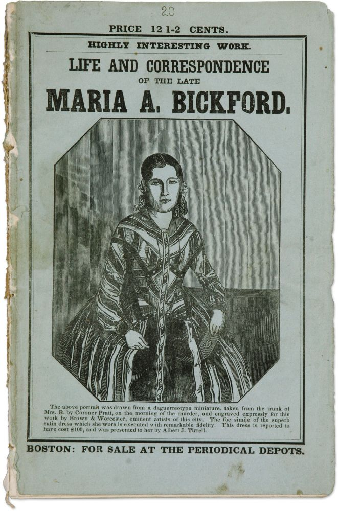 The Authentic Life of Mrs Mary Ann Bickford, Who Was Murdered in. Murder, James Bickford, Compiler.