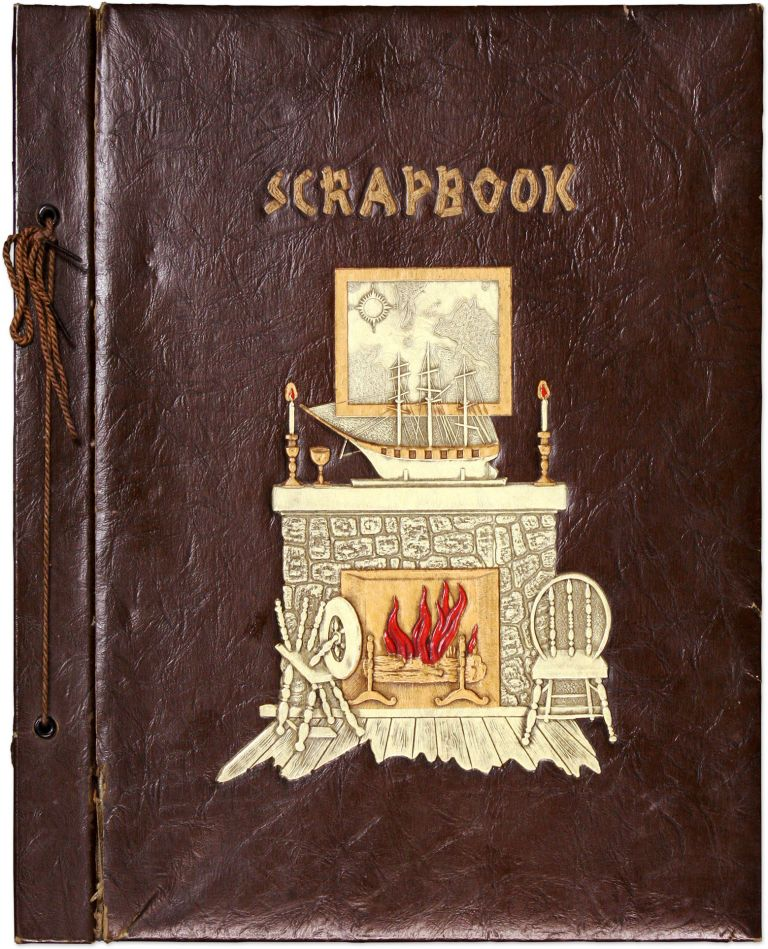 Scrapbook Compiled by FBI Agent and Lawyer Ralph M Whitticar, 1941. Scrapbook, Ralph M. Whitticar.