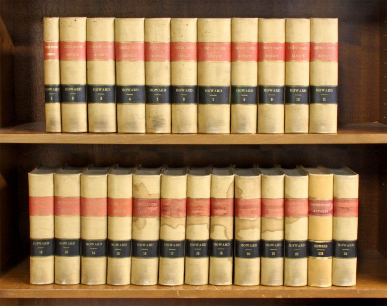 Reports of Cases Argued and Adjudged in the Supreme Court... 24 Vols. United States Supreme Court, Benjamin C. Howard.