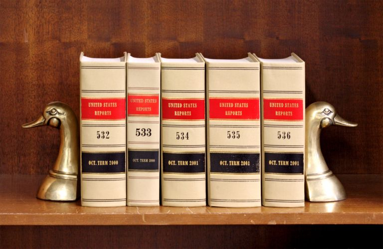 United States Reports. Official edition. Vols. 532 to 536 (2000-2001). United States Supreme Court.