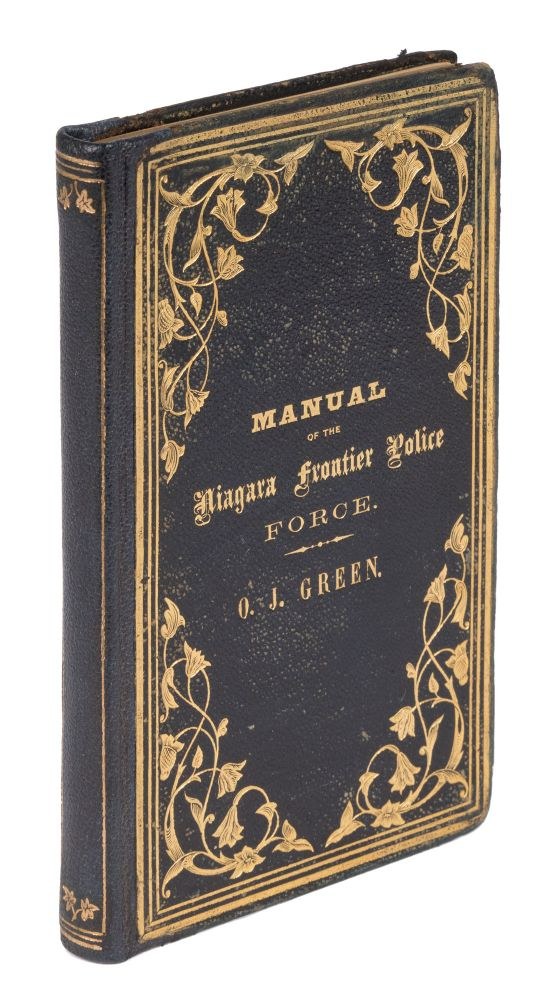 Manual of the Niagara Frontier Police Force of the State of New York. Niagara Frontier Police District.