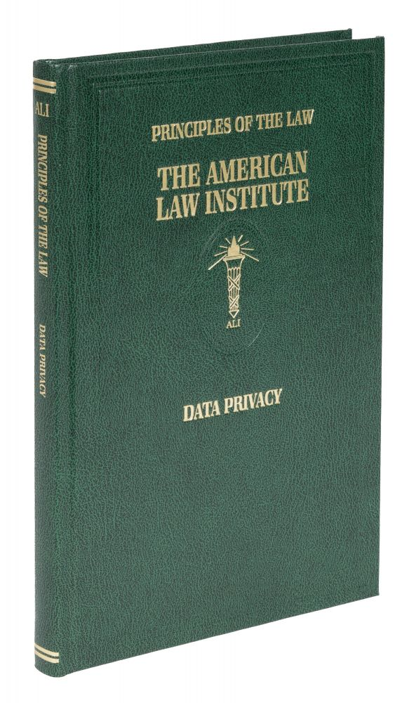 Principles of the Law. Data Privacy. 1 Volume. (December 2020). American Law Institute.