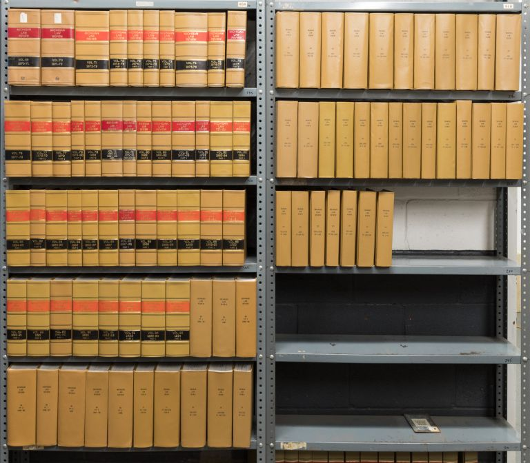 Michigan Law Review. Vols. 69 to 115 no. 5, in 88 books (1970-2017). Michigan Law Review Association.