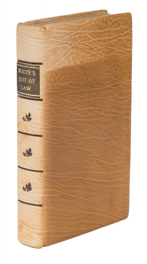 An Historical Treatise of an Action or Suit at Law. Richard Boote.