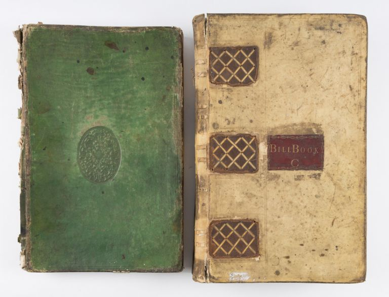 Two Account Books, Rochester, England, 1752-1791, 1797-1800. Manuscript, Solicitors, Great Britain.