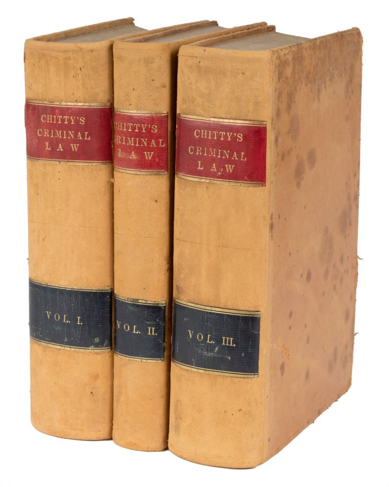 A Practical Treatise on the Criminal Law; Comprising the Practice. Joseph Chitty, Richard Peters.